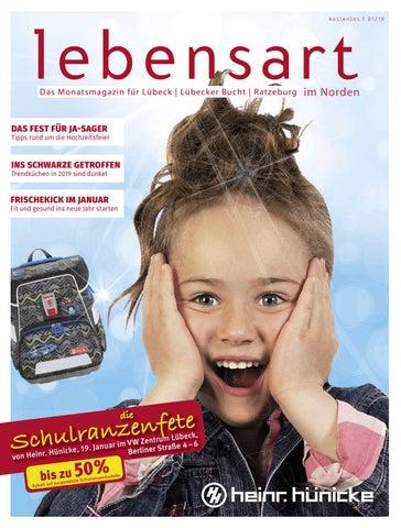 5cfa55f0d88 Lebensart im Norden Lübeck Januar 2019 by Verlagskontor Schleswig ...