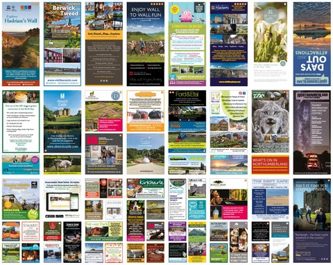 Visit Northumberland Days Out and Attractions Leaflet 2019 by