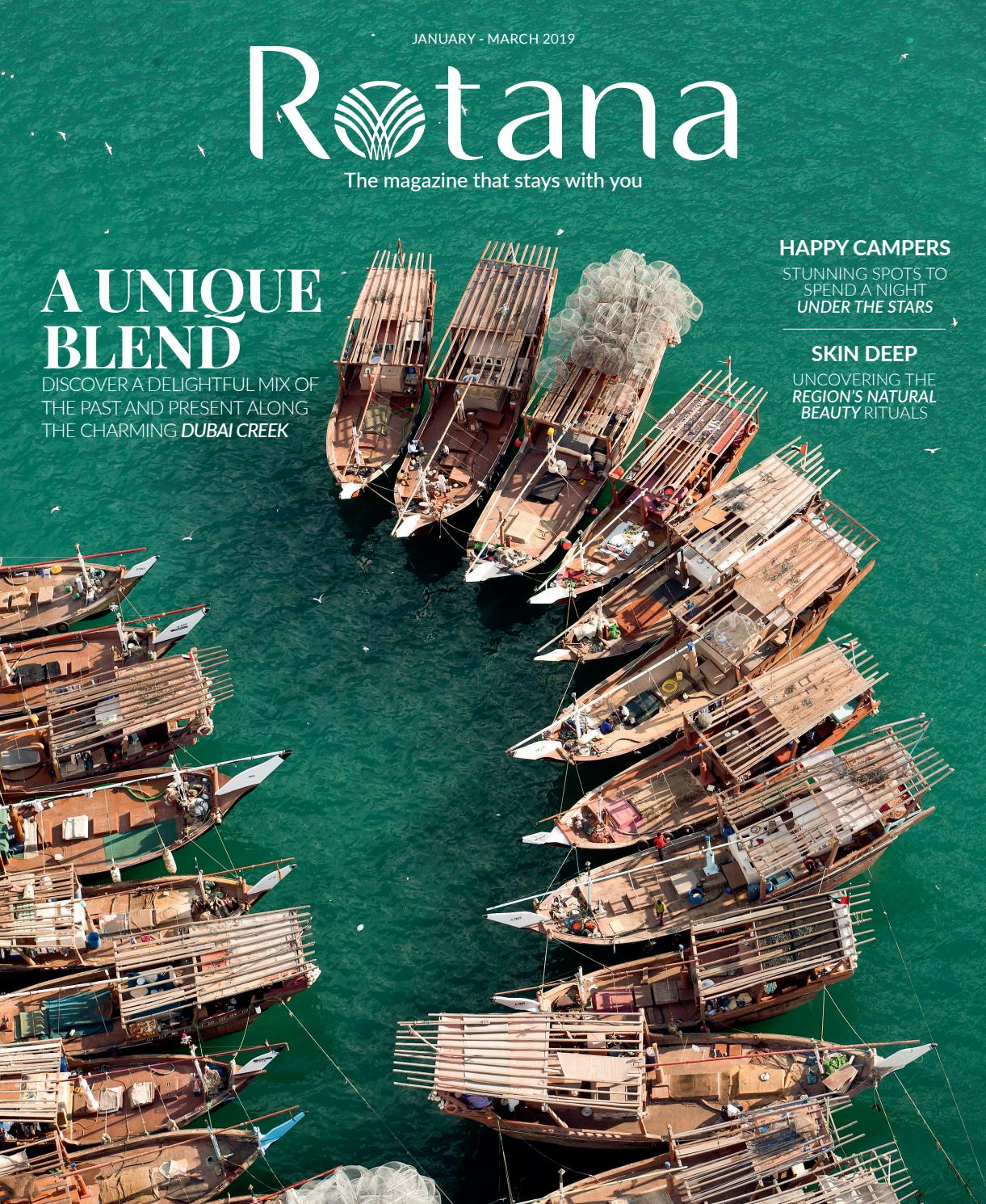 272fadece Rotana January - March 2019 by Rotana Magazine - issuu