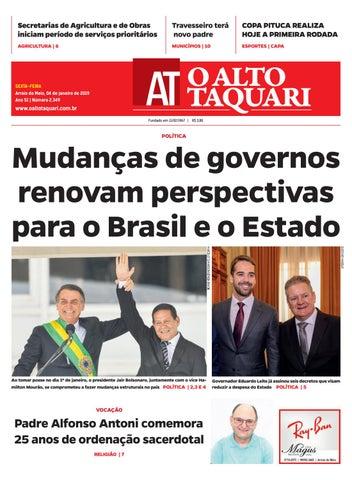 288cc8548 Jornal O Alto Taquari - 04 de janeiro de 2019 by Jornal O Alto ...