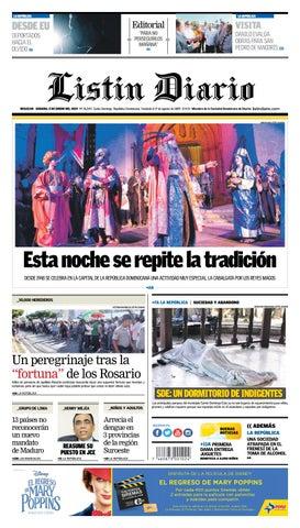 1da9310e6 LD 05-01-2019 by Listín Diario - issuu