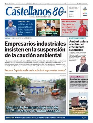 83986d0cfb Diario Castellanos 07 01 19 by Diario Castellanos - issuu