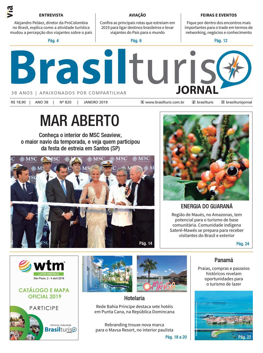 563d10b275 Brasilturis Ed. 820 - Janeiro by Editora Via - issuu
