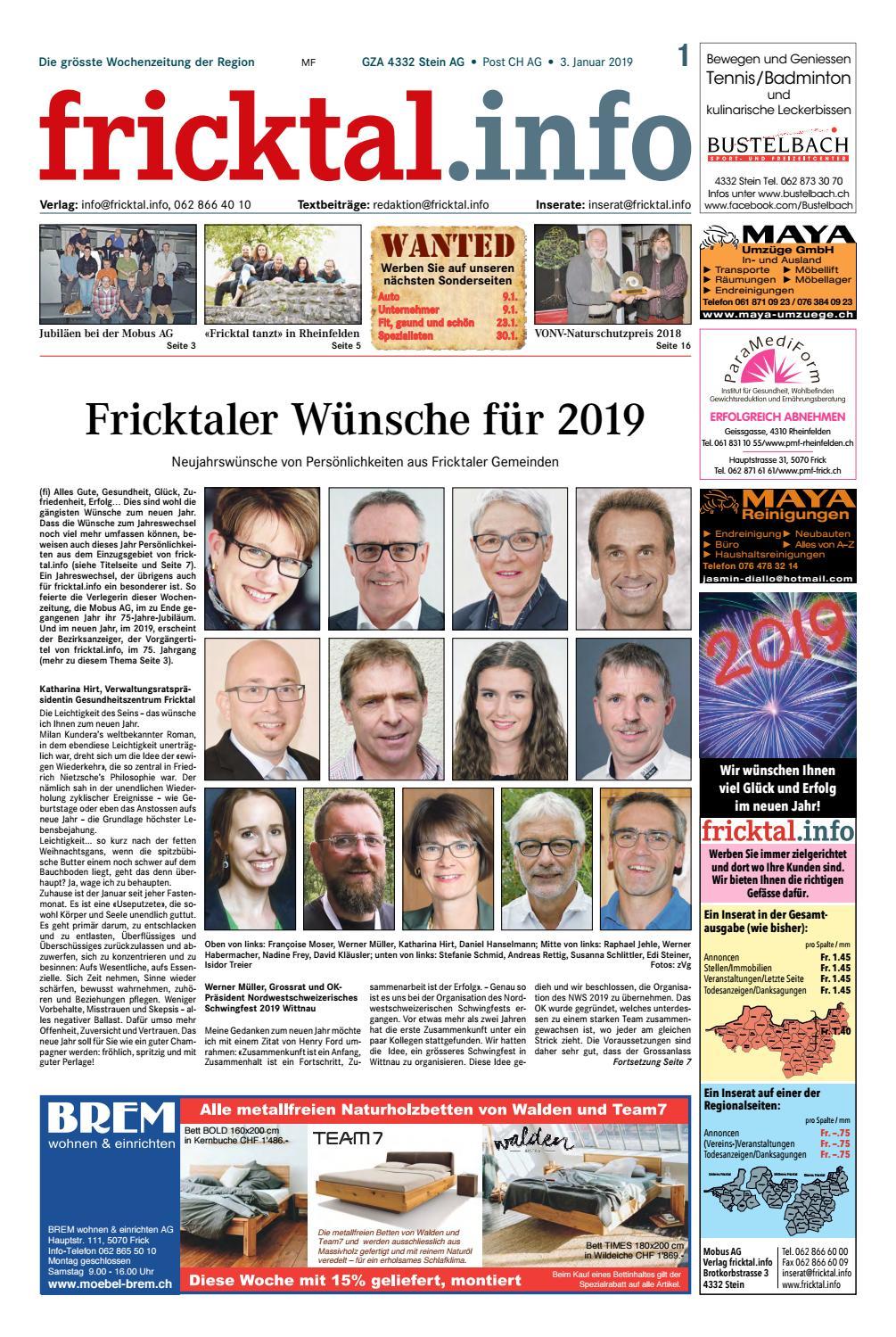 Jahresprogramm 2018 - Landfrauen Gansingen