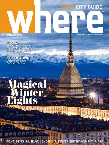 5982130f5535 Where Turin n 4 January 2019 by Where Italia - issuu