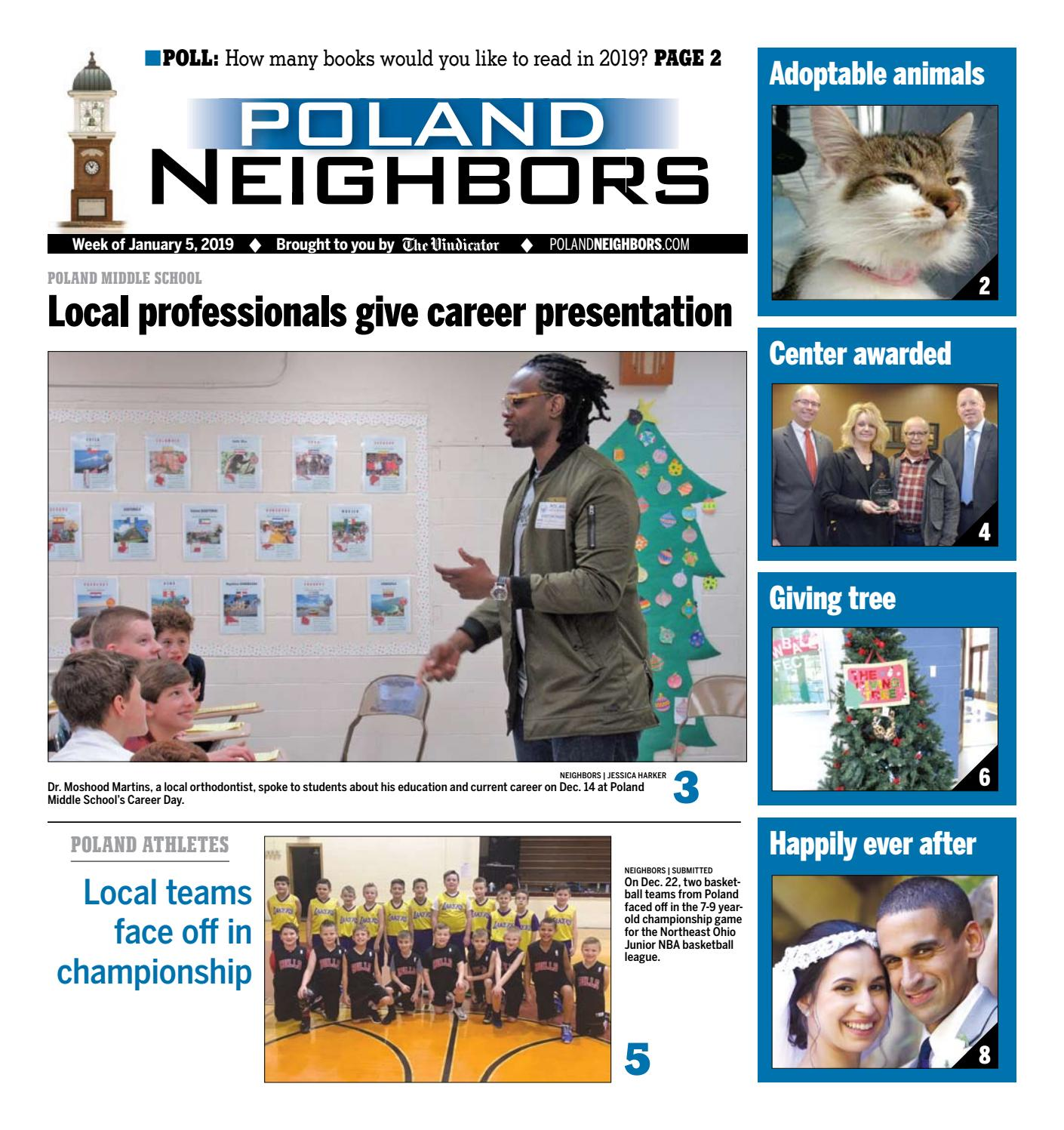 Poland Neighbors Jan 5 2019 By The Vindicator Issuu
