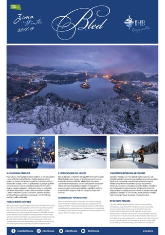 Časopis zima 2018-19 by Bled Tourist Board - issuu e41d17fb891