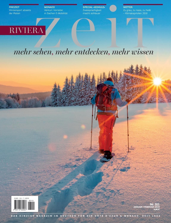 Riviera Zeit - Januar/Februar 2019 by Riviera Press - issuu