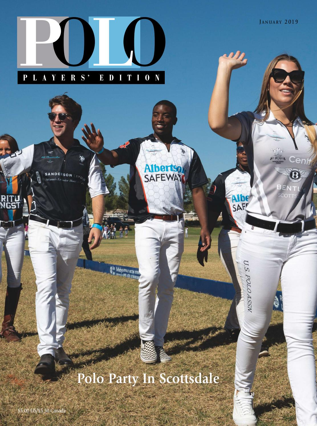 January 2019 Polo Players  Edition by United States Polo Association ... 6d83c7828b2f