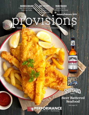 Provisions January/February 2019 by Performance Foodservice