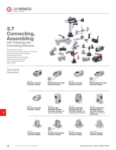 Page 122 of 3.7 Connecting, Assembling with Clamping and Connecting Elements