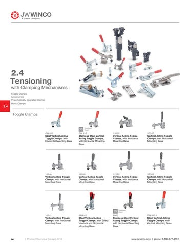 Page 68 of 2.4 Tensioning with Clamping Mechanisms