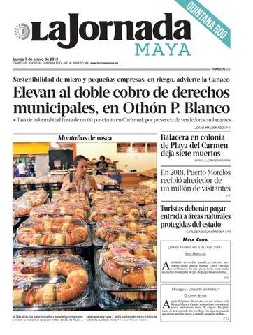 de30e75d7cf6e La Jornada Maya · lunes 7 de enero de 2019 by La Jornada Maya - issuu