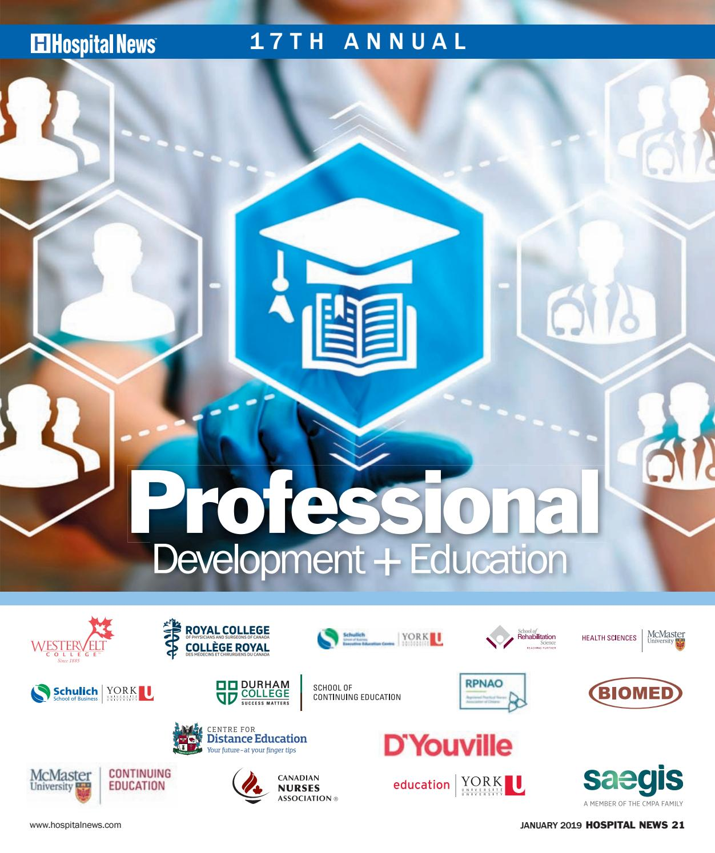 Hospital News 2019 Annual Education Supplement by Hospital News - issuu 60794132e863d
