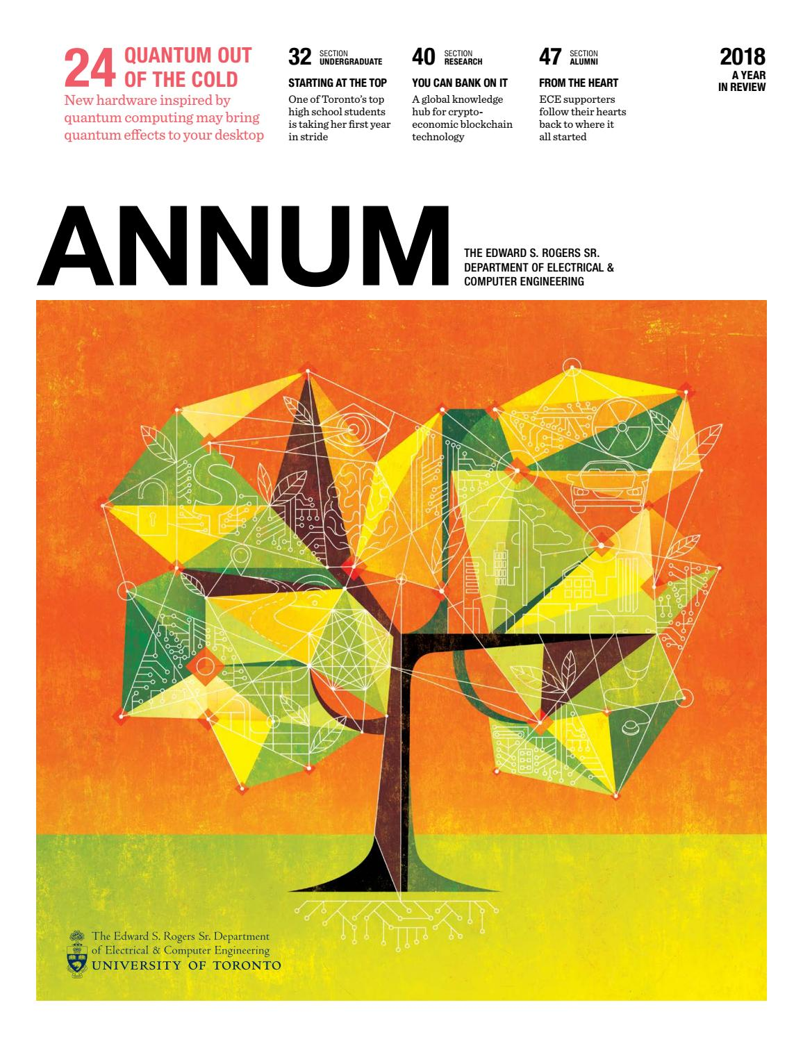 ANNUM 2018 by University of Toronto Faculty of Applied