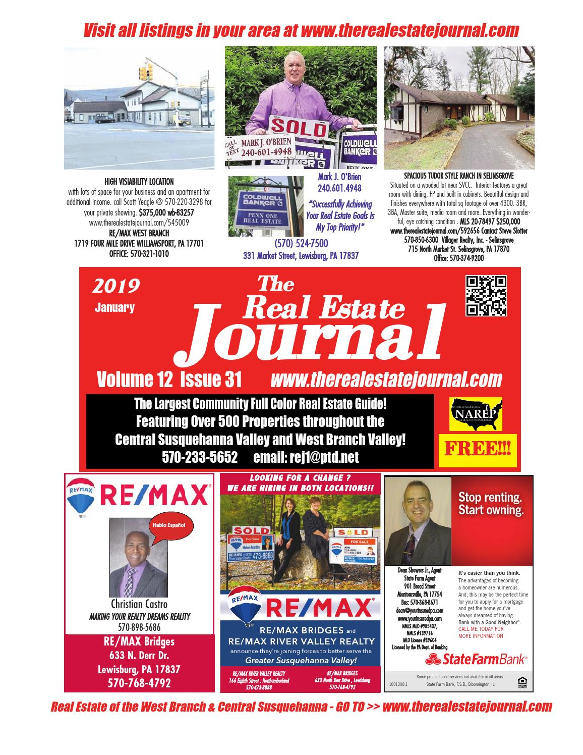 0993ed85300f Real Estate OF West Branch   Central Susquehanna Pa by REJournal - issuu