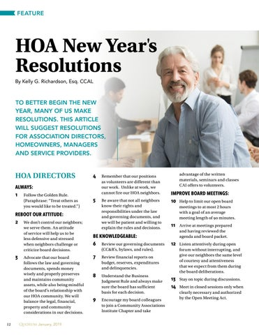 Page 12 of HOA New Year's Resolutions