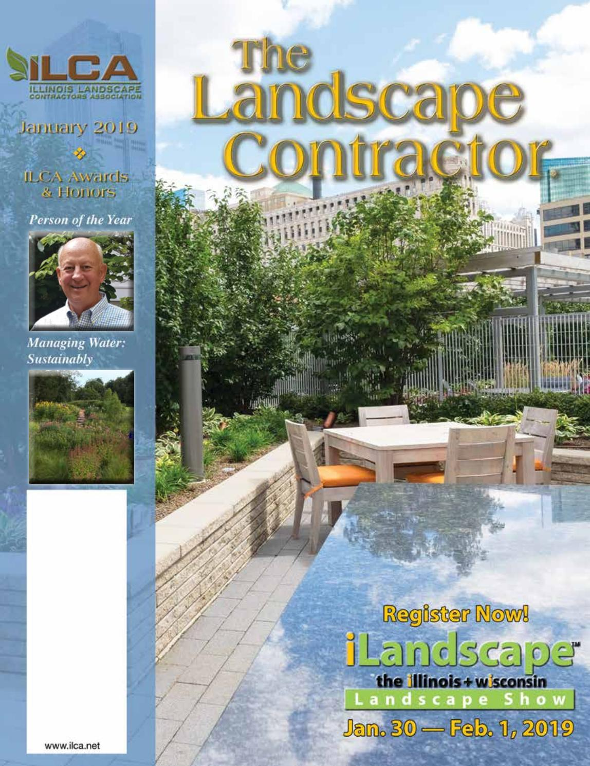 The Landscape Contractor Magazine Digital Edition Jan 19 By