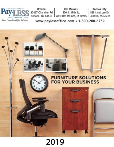 2019 Furniture Solutions For Your Business by Pay-LESS Office
