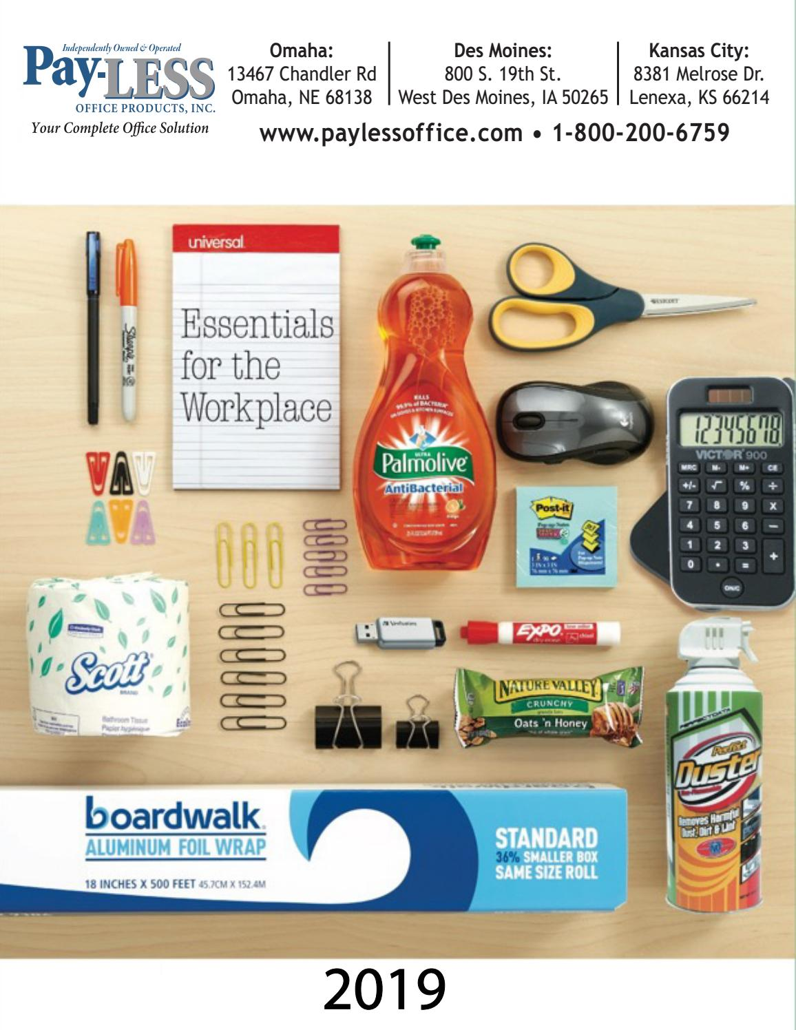 2019 Essentials for the Workplace by Pay-LESS Office Products - issuu