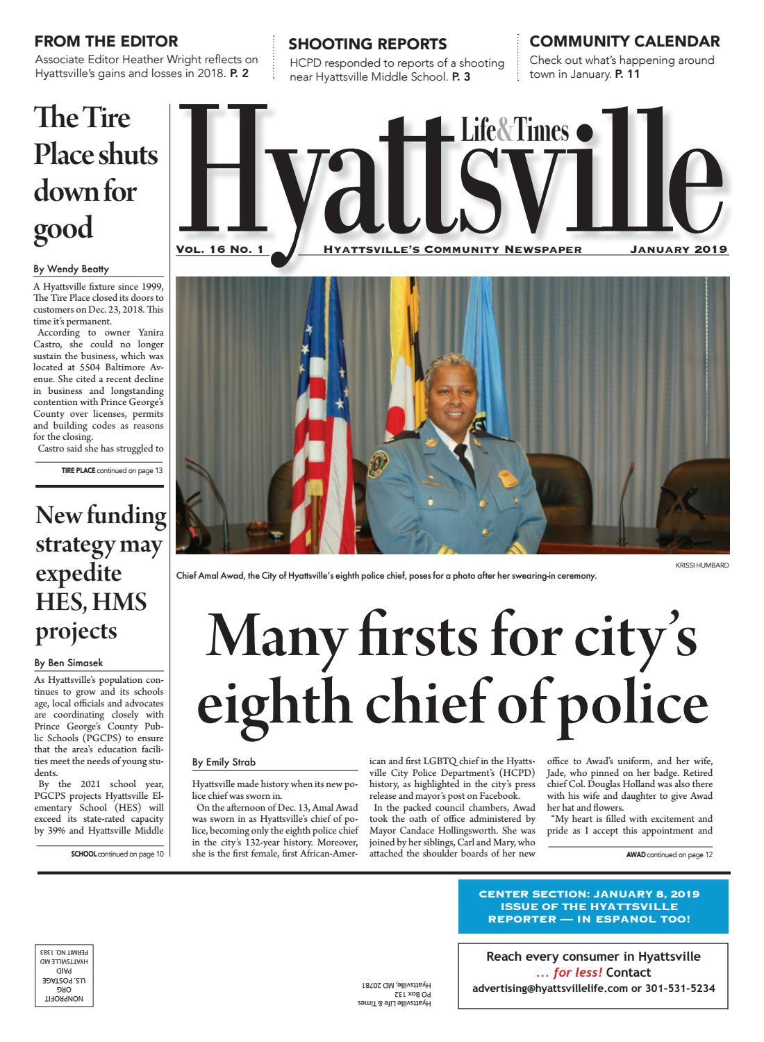 bfee0809c0674 January 2019 Hyattsville Life & Times by Hyattsville Life and Times - issuu