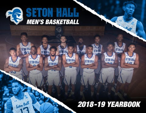 6f4a3f017c4 2018-19 Seton Hall Men s Basketball Yearbook by Seton Hall Pirates ...