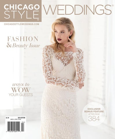 19354f1a5b ChicagoStyle Weddings 2019 with Spring   Summer Exclusive Bonus ...