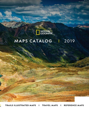 National Geographic Maps 2019 — Spring by National