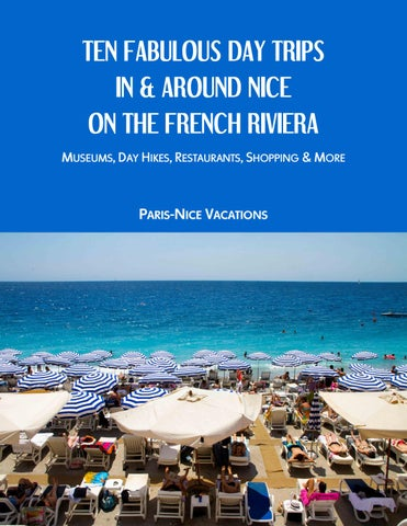 Ten Fabulous Day Trips in and around Nice on The French