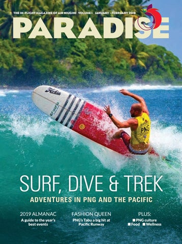 Paradise: the in-flight magazine of Air Niugini, January/February