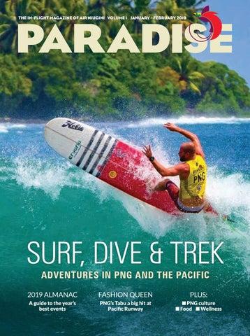 buy popular c5c3b e3e52 Paradise The in-flight magazine of Air NiuginI volume 1 january – february  2019