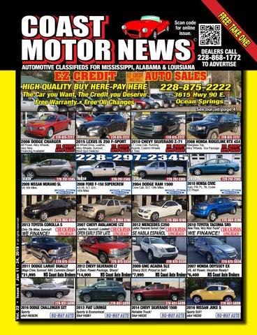 Coast Motor News V22 issue 1 by Coast Motor News - issuu