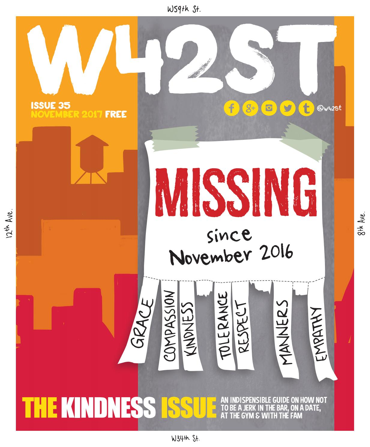 71bd505520ab3 W42ST Issue 35 - The Kindness Issue by W42ST Magazine - issuu