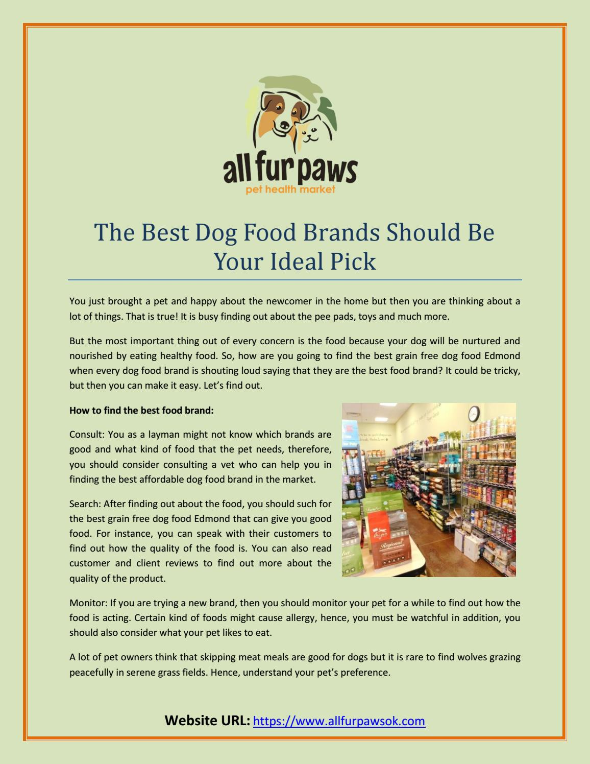 The Best Affordable Dog Food Brand By Vinay Tiwari Issuu