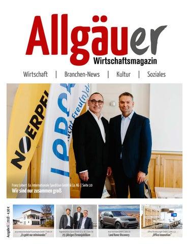 32a8a9462948cb Allgäuer Wirtschaftsmagazin 6 2018 by Thomas Tänzel - issuu