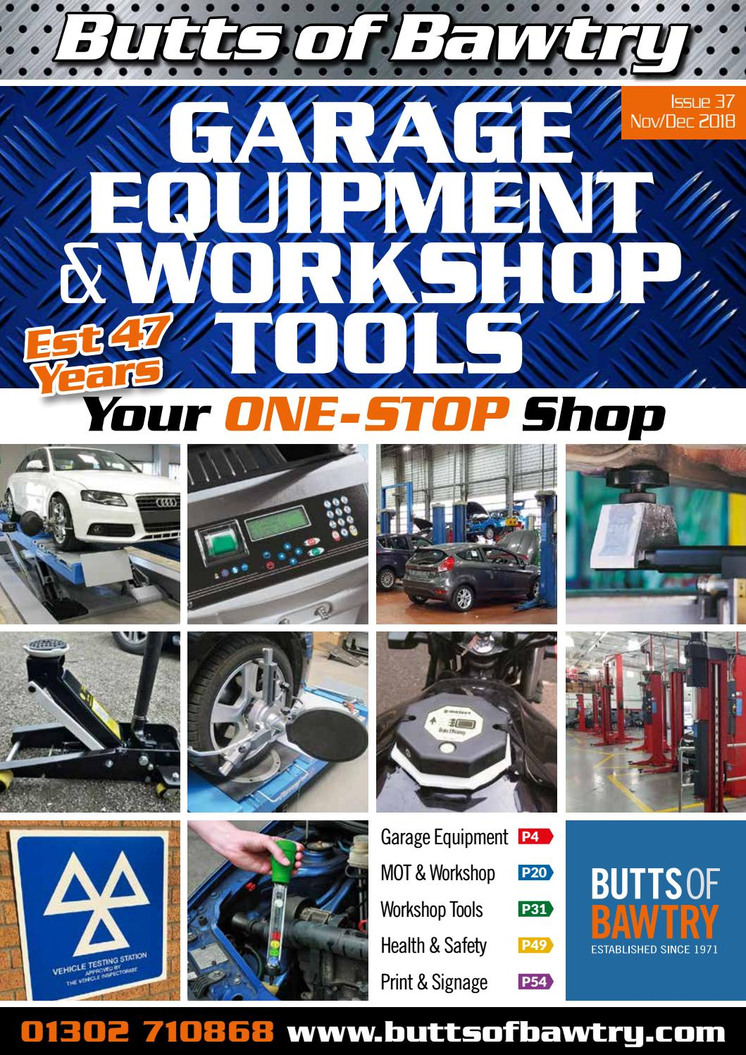 Garage Equipment & Workshop Tools by buttsofbawtry - Issuu