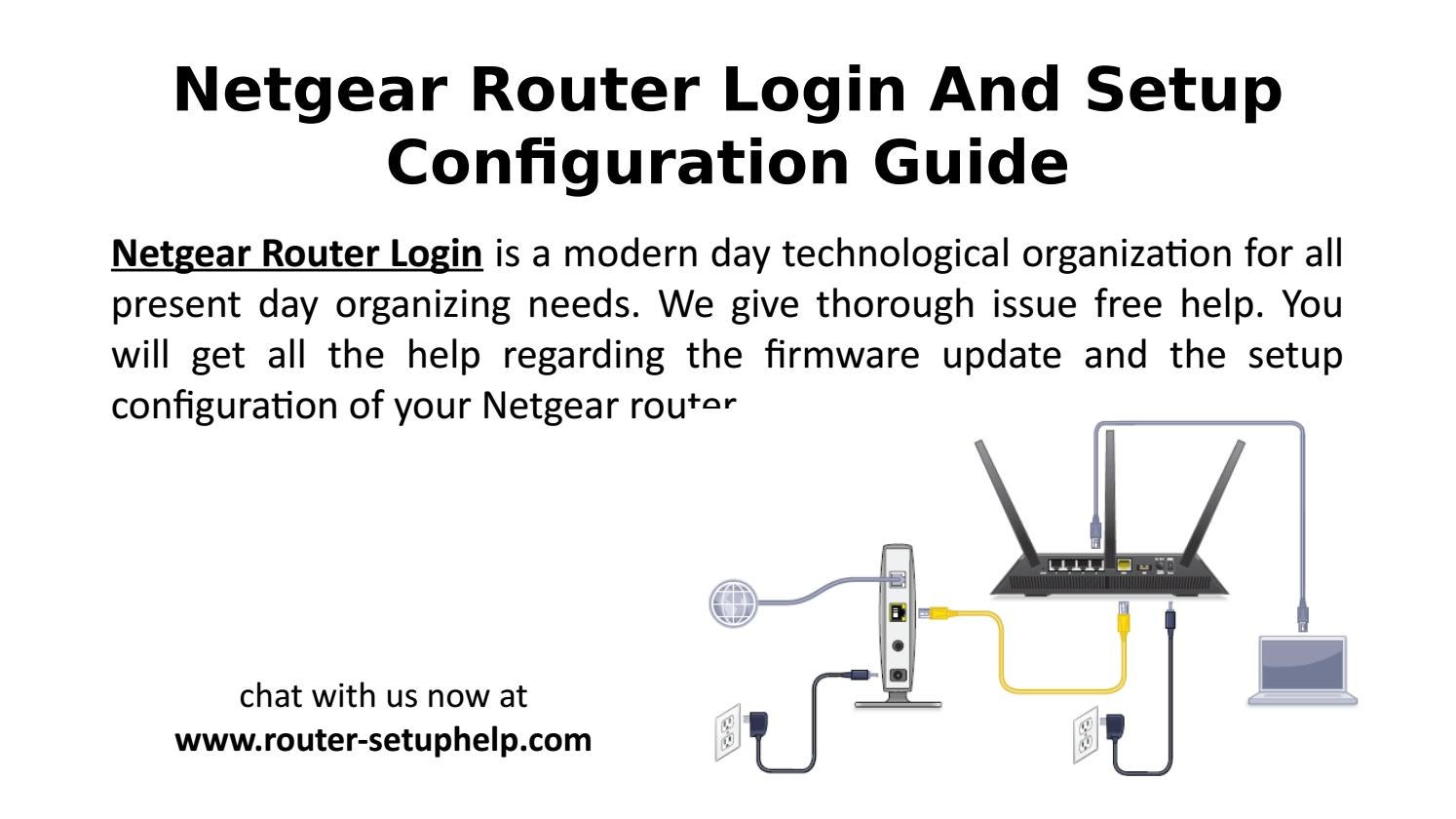 Netgear Router Login And Setup Configuration Guide by