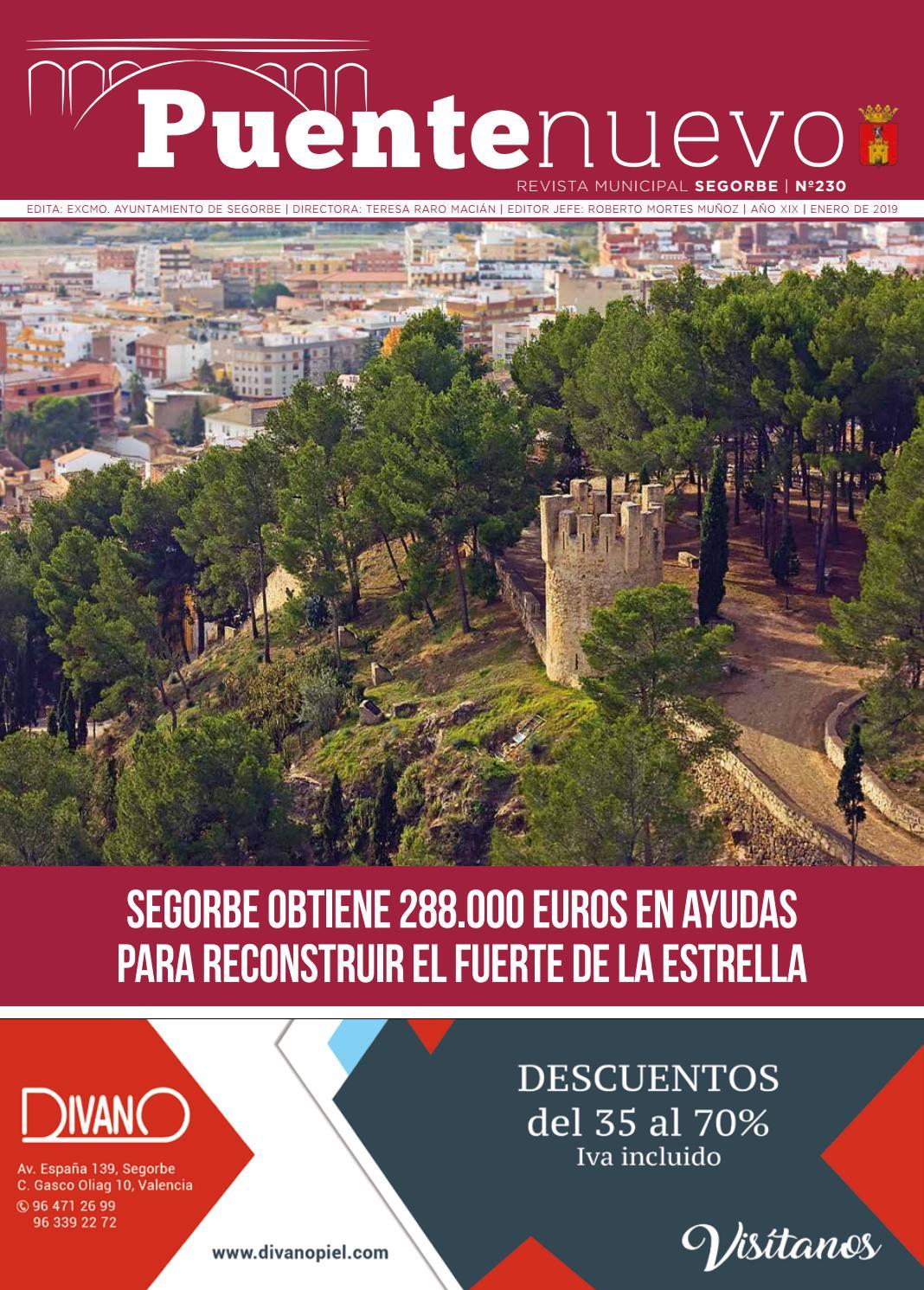 Enero Puente 2019 De Nuevo By Ayuntamiento Segorbe 230 Issuu PkZiOuXT