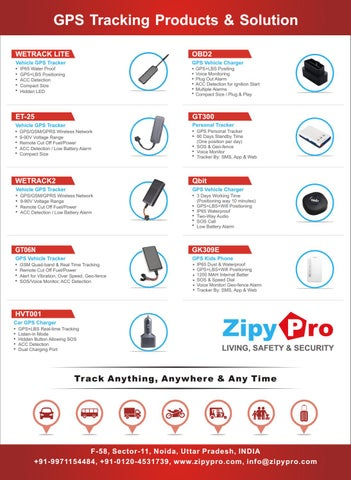 GPS Tracker Devices | The GPS Tracker Company ZipyPro India by Zipy