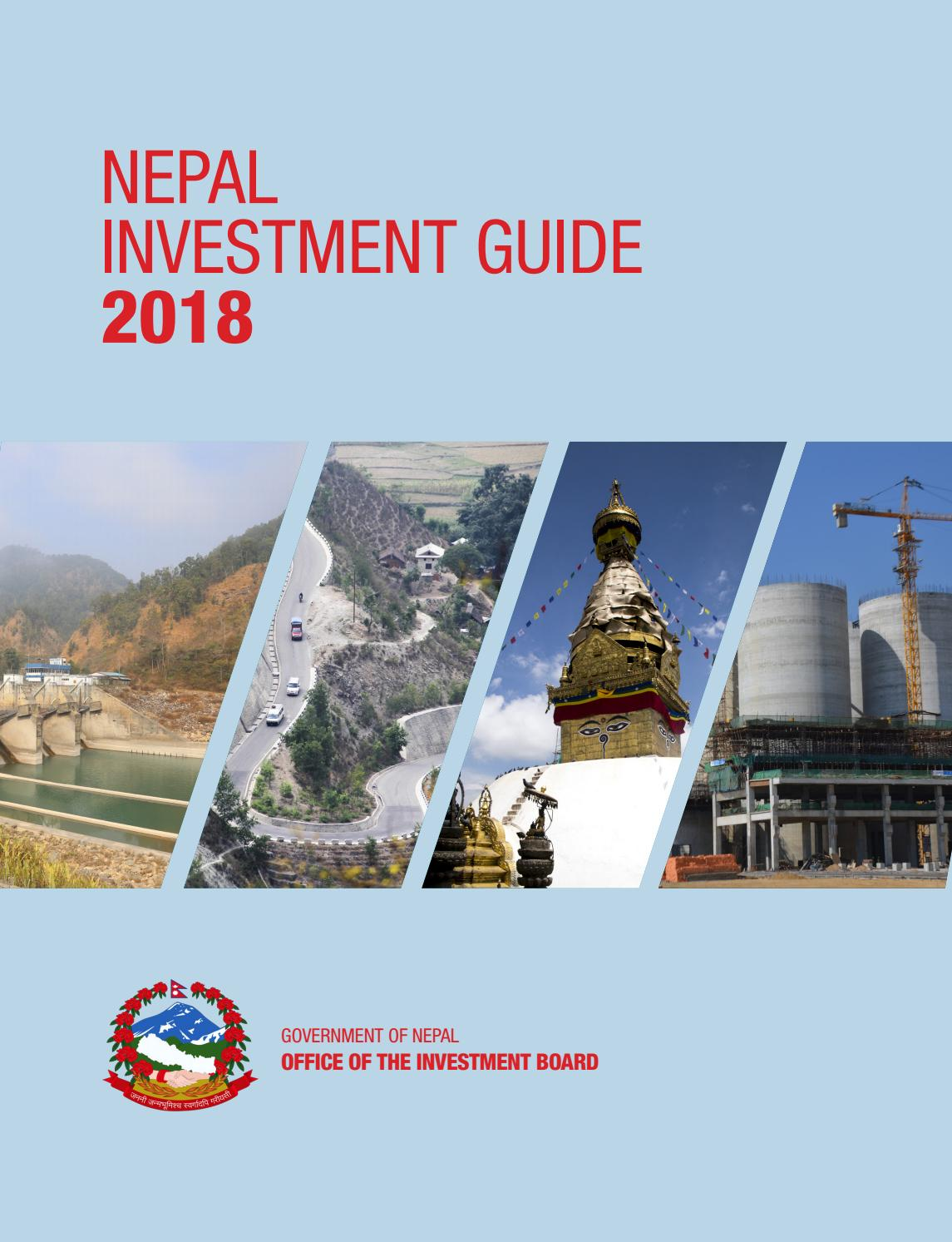 Nepal Investment Guide 2018 by Nepal Investment Summit 2019