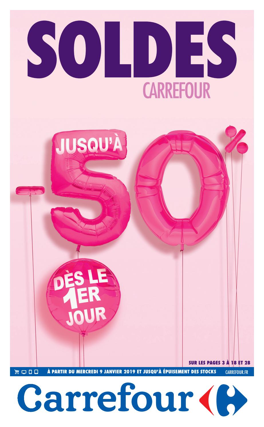 Httpcalendrier Carrefourdrivecom.Catalogue Des Soldes 2019 Carrefour By Bonsplans Issuu