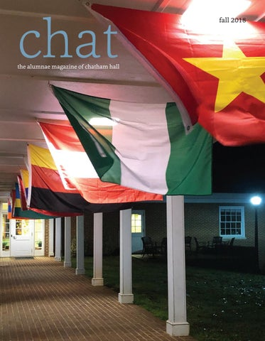 Chat Winter 2018 By Chatham Hall Issuu