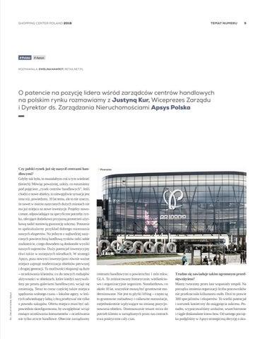 60813ca2302357 ... Page 5 of [PARTNER WYDANIA] Justyna Kur, Apsys: oprócz nowych  inwestycji ważne