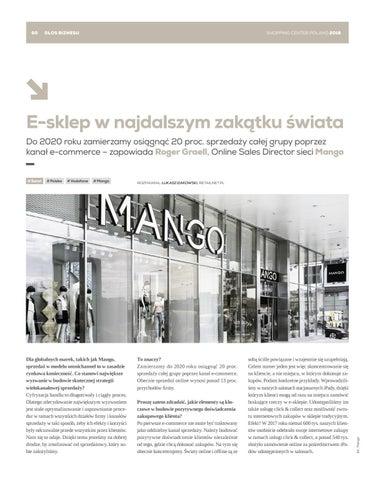ebb8ed60bc3983 Shopping Center Poland Magazine 4/2018 by Shopping Center Magazine ...