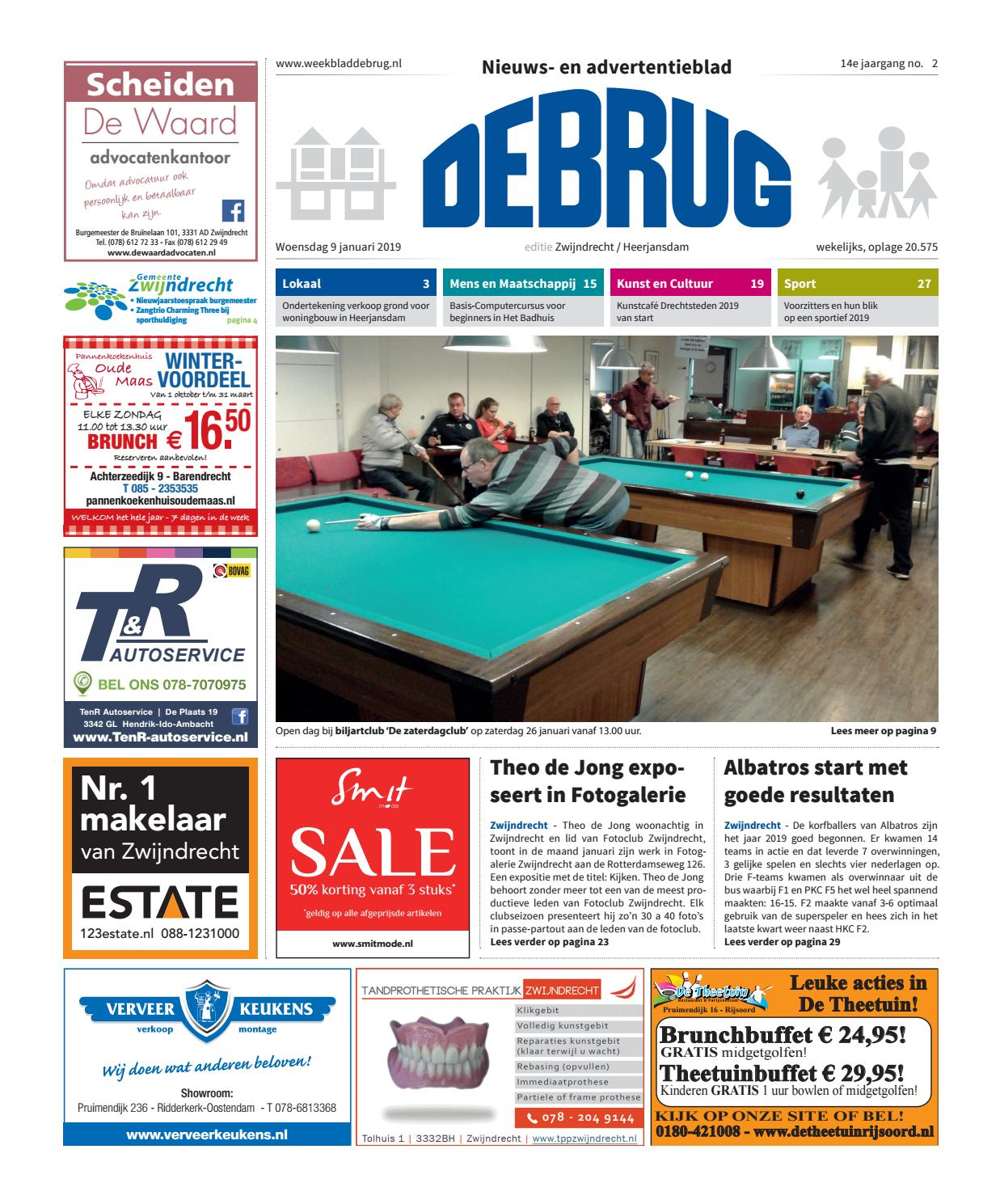 def70791374 Weekblad De Brug - week 2 2019 (editie Zwijndrecht)