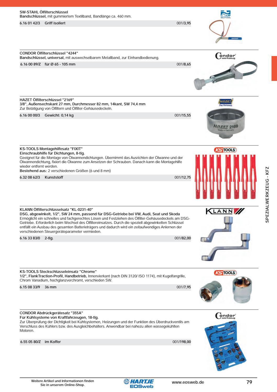Universal Ölfilterschlüssel SW 80 bis 100 mm Ölfilter Schlüssel Bandschlüssel