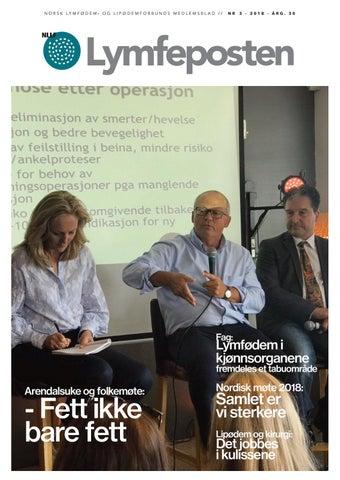 4dc87bb9 Lymfeposten nr 3-2018 by Norges lymfødem- og lipødemforbund - issuu