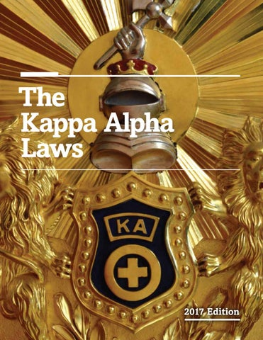 Kappa Alpha Laws