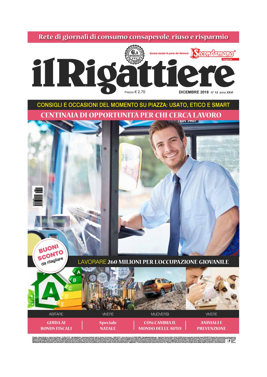 Il Rigattiere dicembre 2018 by Edit Italia S.r.l. - issuu f26793ce2c38