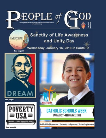 People of God, January 2019 by Archdiocese of Santa Fe - issuu